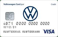 Volkswagen Bank Girokonto mit Visa