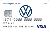 VW Bank Konto mit Visa